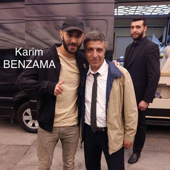 Real Madrid in yıldızı Karım Benzema